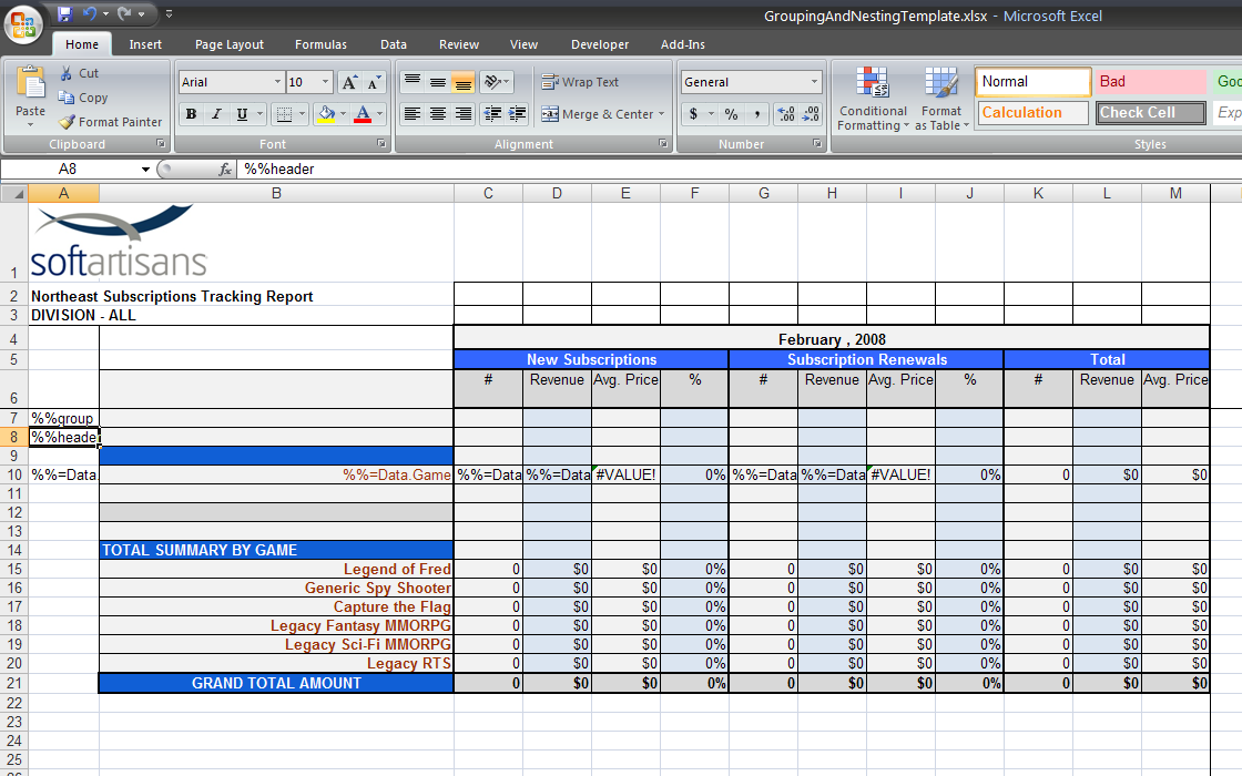 how to make header in excel wider