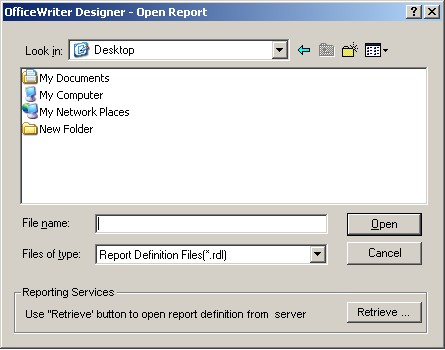 Create an Excel Report from an Existing RDL - SSRS Integration v8